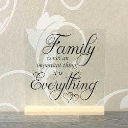 Glasplatta Familj alt 4