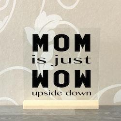Glasplatta Mamma/pappa alt 9