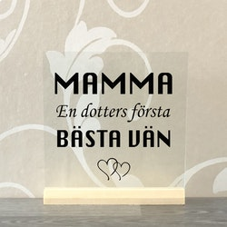 Glasplatta Mamma/pappa alt 12