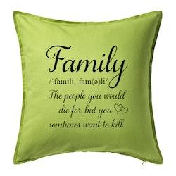 Kuddfodral Family