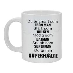Superhjälte Bild & text