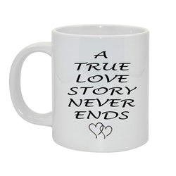 A true love story Bild & text