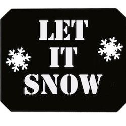 Isskrapa Let it snow