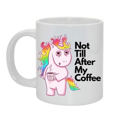 My coffee... Bild & text
