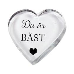 Glashjärta Du är bäst