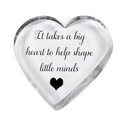 Glashjärta Big heart