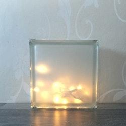 Glasblock Little star
