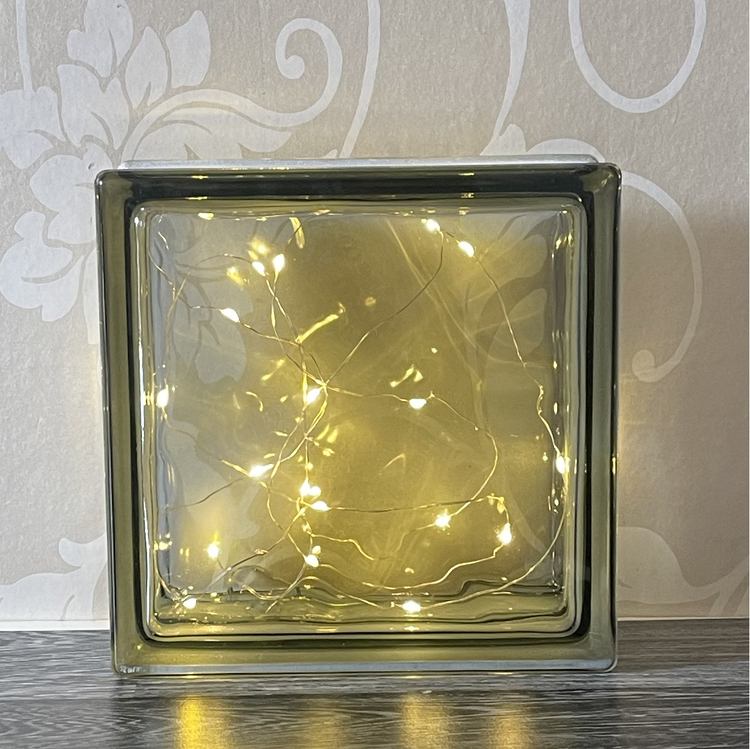 Glasblock Luftballong