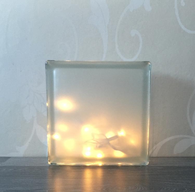 Glasblock Together or apart