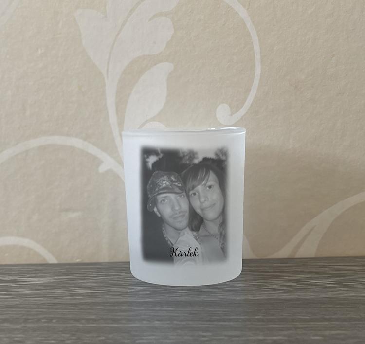 Ljushållare Med eget foto