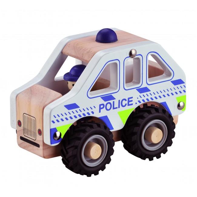 Magni - Polisbil i trä