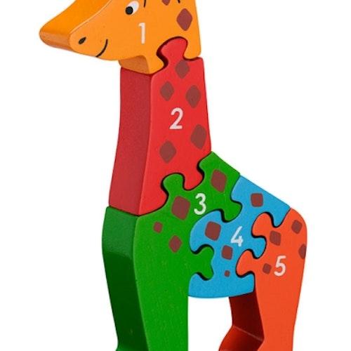 Pussel - Giraff