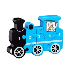 Pussel -Tåg 1-5