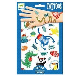 Tatueringar - Djungeldjur