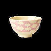 RICE - Skål Moln rosa Small