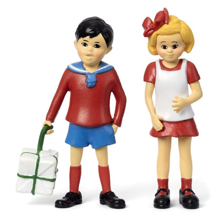 Pippi Långstrump - Figurset Tommy och Annika
