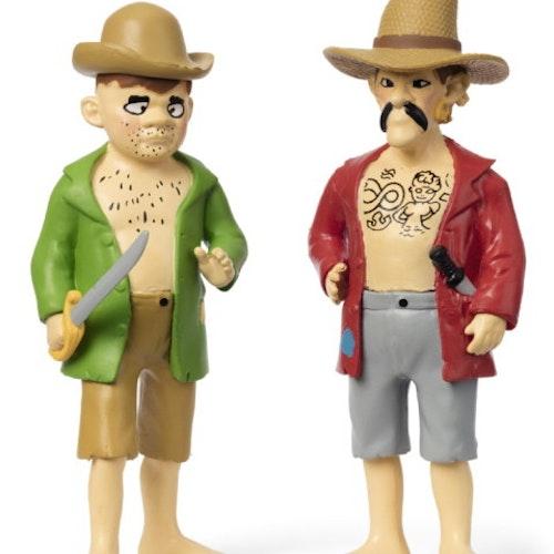 Pippi Långstrump - Figurset Pirater