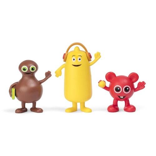 Babblarna - Figurset 3-pack Bobbo, Bibbi och Babba.