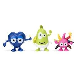 Babblarna - Figurset 3-pack Diddi, Dadda och Doddo.