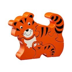 Pussel - Tiger med unge