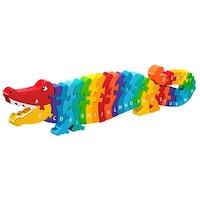 Pussel - Krokodil A-Ö