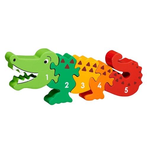 Pussel - Krokodil