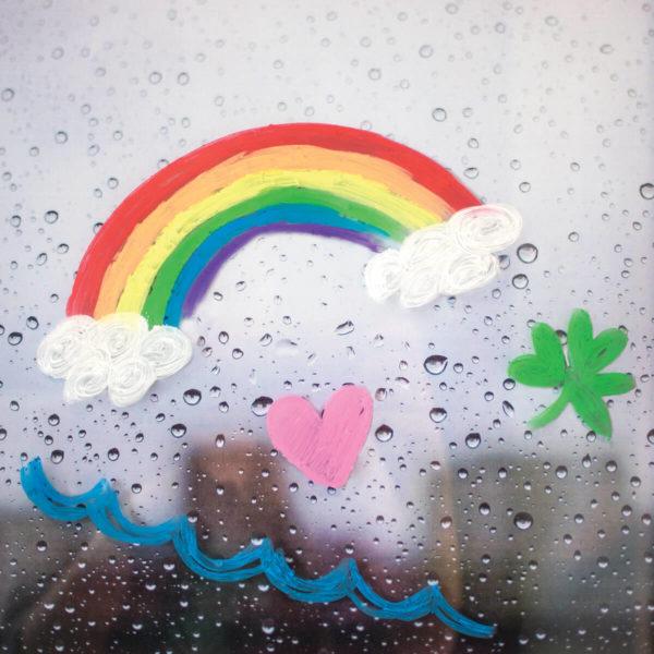 Rainy day - Gelékritor
