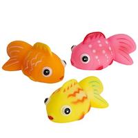 Badleksaker Småfisk 3-pack