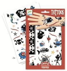 Tatueringar - Pirat