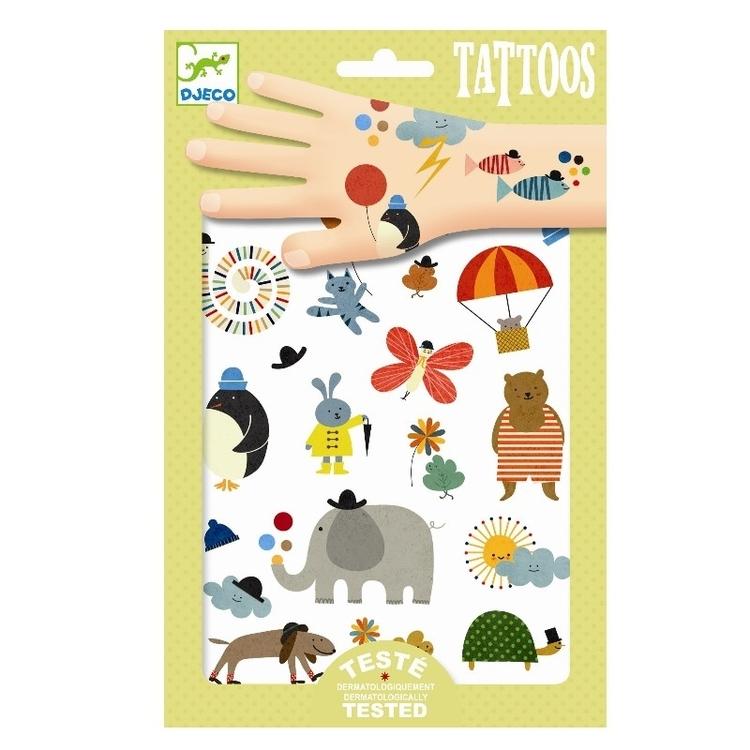 Tatueringar - Söta Djur