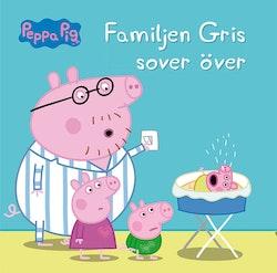 Greta gris - Familjen gris sover över