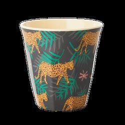 RICE - Mugg Leopard & Löv Medium