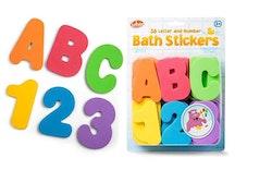 Bath Stickers ABC