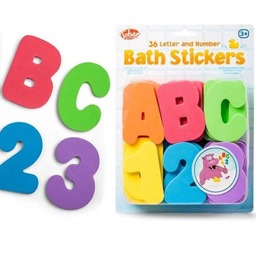 Bath Stickers ABC