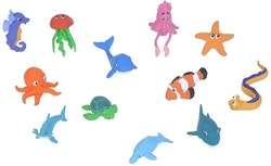 Havsdjur Figurpaket