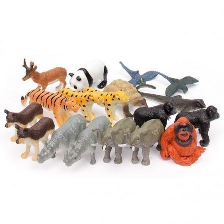 Utrotningshotade Djur Figurpaket
