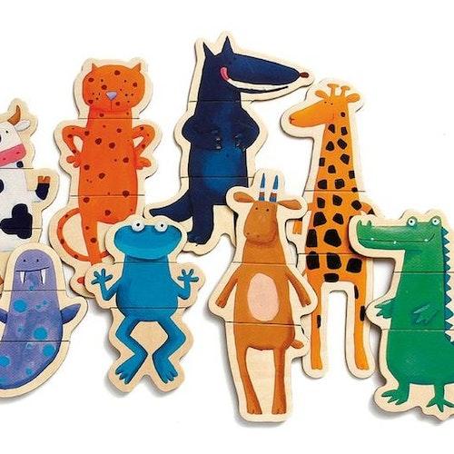 Magnetpussel - Crazy Animals