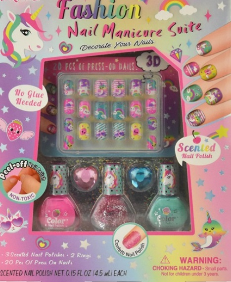 Manikyr set - doft nagellack