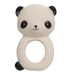 Bitring i naturgummi - Panda