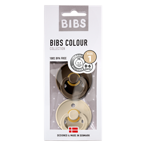 Bibs Color Nappar 2-pack 18 mån Chocolate/Sand