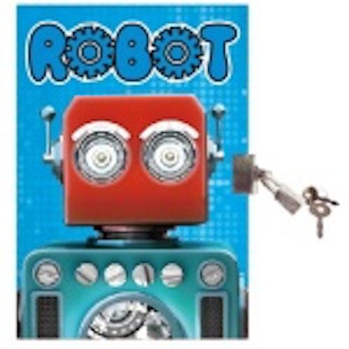 Dagbok med lås - Robot