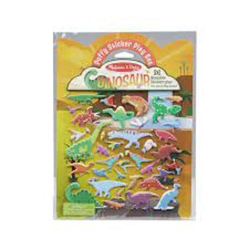 Puffiga Klistermärken - Dinosaurier