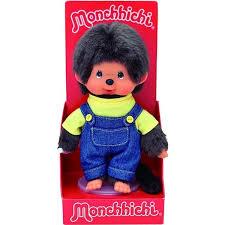 Monchhichi - Pojke gul t-shirt/denim