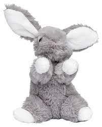 Liten grå kanin - Lollo 16 cm