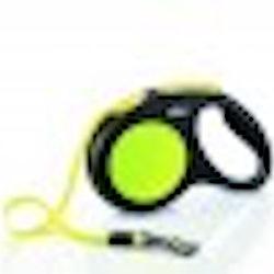 Flexi New Neon M Tape leash, 5 m