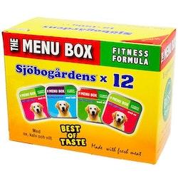 Menu Box Paté Hund 12pack