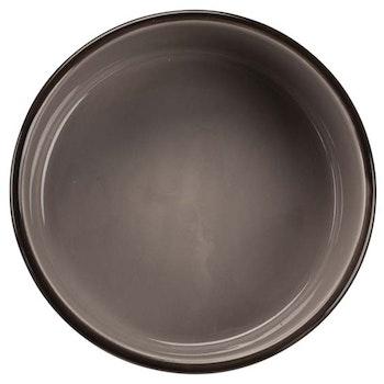 Keramikskål Brun/Beige m tassmotiv 0,3 L 12 cm