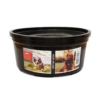 Active Canis Non-splash Bowl Black 1,4 liter, 18 cm