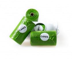 Active Canis Poop Bags Big Pack 16 rullar + hållare