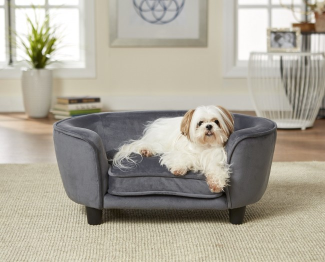 EHP Coco Pet Sofa Grey 67.31 x 40.64 x 27.94 cm